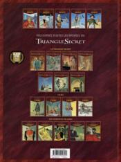 Le triangle secret - Hertz T.5 ; la troisième mort de l'empereur - 4ème de couverture - Format classique