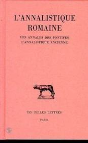 Annalistique romaine t1 (l') - Couverture - Format classique