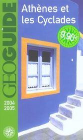 Geoguide ; Athènes Et Les Cyclades (Edition 2004/2005) - Intérieur - Format classique