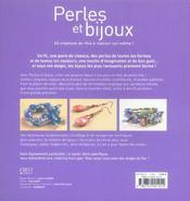 Perles Et Bijoux - 4ème de couverture - Format classique