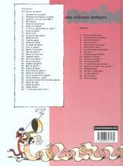 Léonard t.15 ; crie, ô génie - 4ème de couverture - Format classique