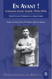 En avant ! capitaine Lionel Lemoël 1914-1916 - Couverture - Format classique