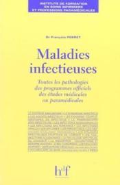Maladies Infectieuses - Couverture - Format classique