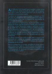 L'Aventure Des Laboratoires Regionaux Des Ponts Et Chaussees Avec Cd-Rom - 4ème de couverture - Format classique