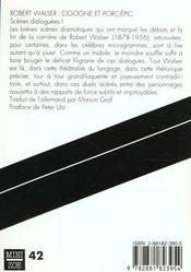 Cigogne Et Porc-Epic - 4ème de couverture - Format classique