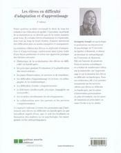 Les élèves en difficulté d'adaptation et d'apprentissage (3 édition) - 4ème de couverture - Format classique