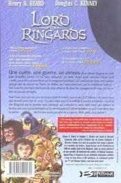 Lord of the ringards ; la célébre parodie du Seigneur des anneaux - 4ème de couverture - Format classique