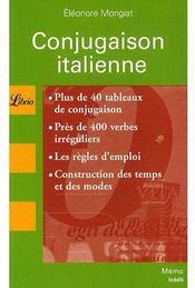 Conjugaison italienne - Couverture - Format classique