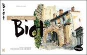 Biot ; carnet de voyage - Couverture - Format classique