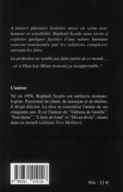 Divan divin ; tableaux de familles. état dame. l'aâme de fond - 4ème de couverture - Format classique