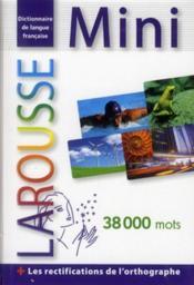 Mini plus dictionnaire Larousse ; français (édition 2012) - Couverture - Format classique
