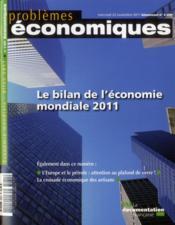 Problemes Economiques N.3031 ; Bilan De L'Economie Mondiale - Couverture - Format classique