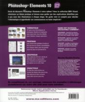 Photoshop Elements 10 - 4ème de couverture - Format classique