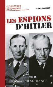 Espions d'Hitler - Couverture - Format classique
