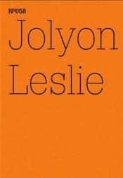 Documenta 13 Vol 58 Jolyon Leslie /Anglais/Allemand - Couverture - Format classique