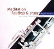 Méditation ; hautbois & orgue - Couverture - Format classique