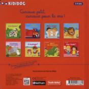 Grrr! les dinosaures - 4ème de couverture - Format classique