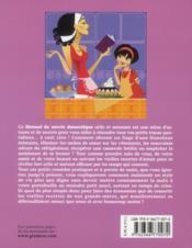 Manuel de survie domestique en temps de crise ; 123 remèdes pratiques, rapides et économiques - 4ème de couverture - Format classique