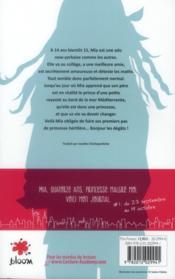 Journal d'une princesse t.1 ; la grande nouvelle - 4ème de couverture - Format classique