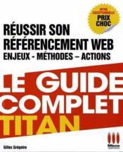 Réussir votre référencement web (Google, Facebook ) - Couverture - Format classique