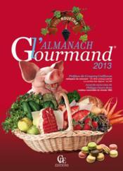 Almanach Gourmand 2013 - Couverture - Format classique