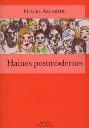 Haines postmodernes - Couverture - Format classique
