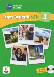 TEAM DEUTSCH NEU 1 ; allemand ; livre de l'eleve - Couverture - Format classique