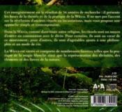 La wicca ; guide pratique individuel - 4ème de couverture - Format classique