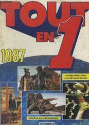 Tout En 1. 1987. - Couverture - Format classique