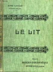 Le Lit. - Couverture - Format classique