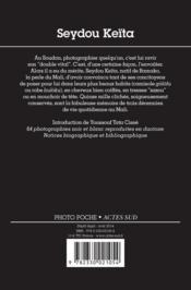Seydou Keita - 4ème de couverture - Format classique