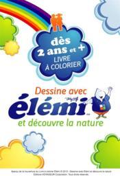 Dessine avec Elémi et découvre la nature - Couverture - Format classique