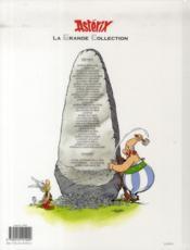 Astérix t.23 ; Obélix et compagnie - 4ème de couverture - Format classique