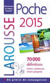 LAROUSSE DE POCHE (édition 2015) - Couverture - Format classique