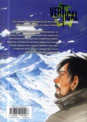 Vertical T.6 - 4ème de couverture - Format classique