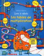 Les tables de multiplication - Couverture - Format classique