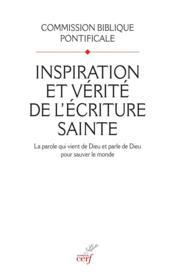 Inspiration et verite de l'ecriture sainte - Couverture - Format classique