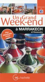 Un grand week-end ; Marrakech - Couverture - Format classique