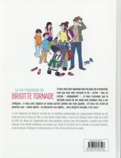 La vie trépidante de Brigitte Tornade - 4ème de couverture - Format classique