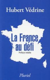 La France au défi - Couverture - Format classique