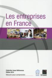 Les entreprises en France - Couverture - Format classique