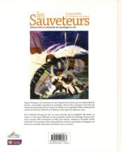 Les sauveteurs ; histoire folle et raisonnée du sauvetage en mer - 4ème de couverture - Format classique
