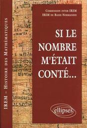 Si Le Nombre M'Etait Conte - Intérieur - Format classique