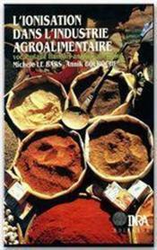 L'ionisation dans l'industrie agro-alimentaire ; vocabulaire francais-anglais-allemand - Couverture - Format classique
