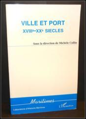Ville Et Port Xviii-Xx - Couverture - Format classique