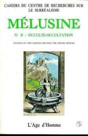 Melusine 2 Occulte-Occultation - Couverture - Format classique