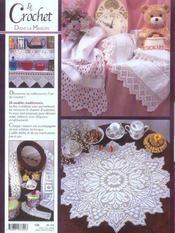 Le crochet dans la maison ; 24 modèles traditionnels - 4ème de couverture - Format classique