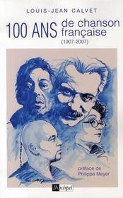 Cent ans de chanson francaise (1905-2005) - Intérieur - Format classique