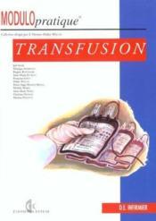 Transfusion - Couverture - Format classique
