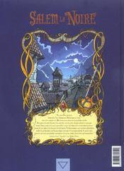 Salem la noire t.2 ; le diadème des âmes - 4ème de couverture - Format classique